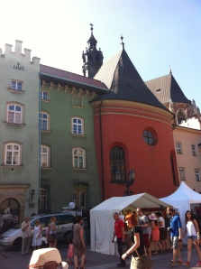 The Little Rynek street fair