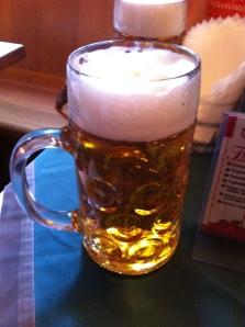 A liter of beer!!!!