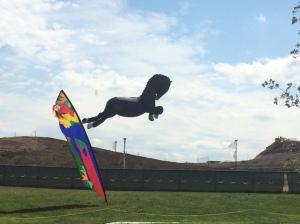 Life-size horse kite